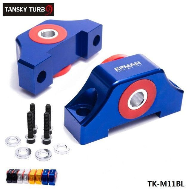 TANSKY   For Honda Civic EG EK JDM Engine Billet Motor Torque Mount Kit B16  B18