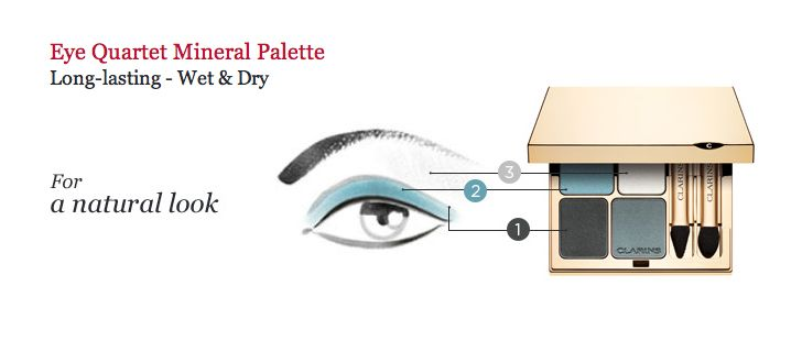 """How to wear the new Eye Quartet in """"Blue Sky"""" on Clarinsusa.com"""