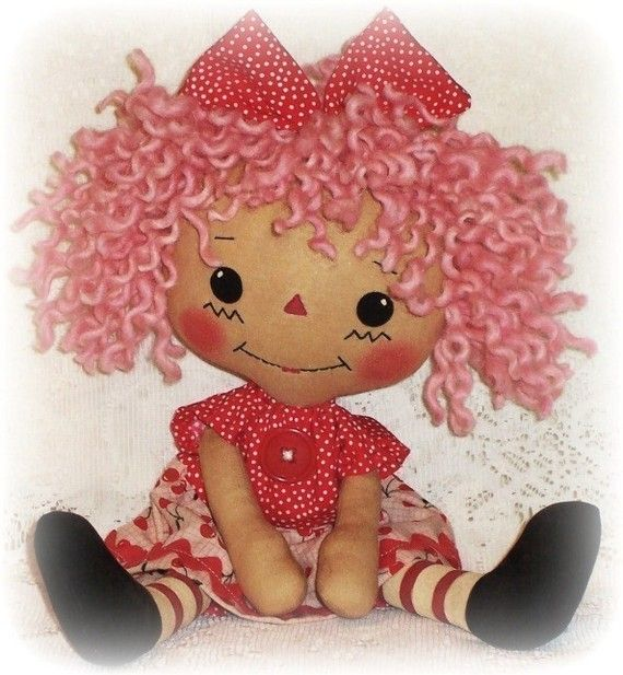 Doll Pattern Pdf Rag Doll Sewing Pattern Epattern By Ohsewdollin