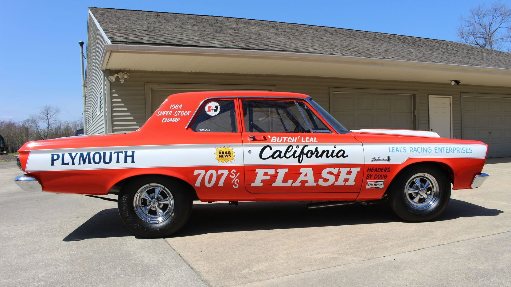 Pin On Butch Leal California Flash Drag Car