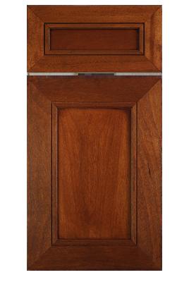 Contemporary mitered flat panel door in stained african mahogany contemporary mitered flat panel door in stained african mahogany with 3 18 planetlyrics Gallery