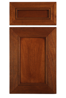 Contemporary Mitered Flat Panel Door In Stained African Mahogany With 3 1 8 Stiles And Rails Cabinet Door Styles Wood Cabinet Doors Cabinet Doors
