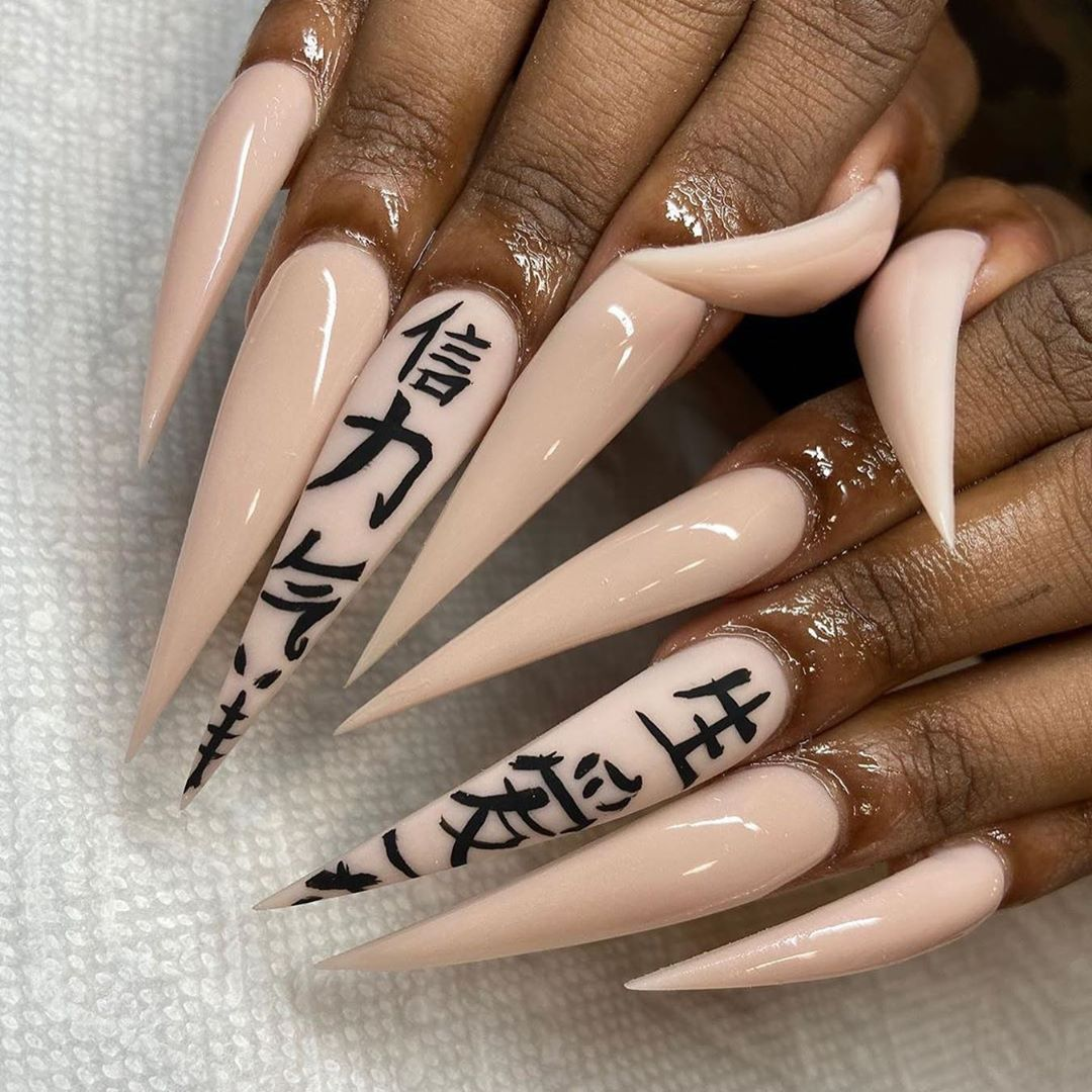 """Snobb Queen on Instagram: """"Hit like if you love long nails 💅🏾 @grabbers_bycyn  __________________________________…"""""""