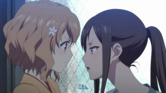 Shinnu Die Lol Only Min Chi Can Say That To Ohana With A Straight Face Anime Movies Anime Love Hanasaku