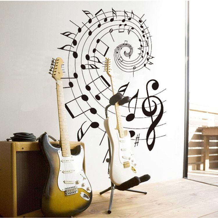 muurdecoratie stickers muziek - Google zoeken