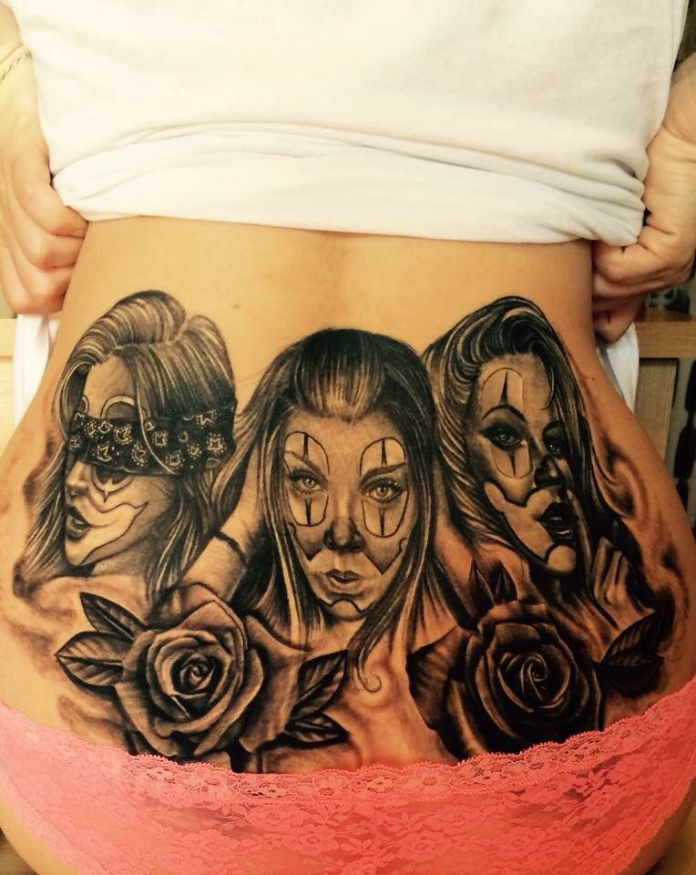 Hear See Speak No Evil Tattoo : speak, tattoo, Amazing, Tattoo, Speak, Tattoos,, Portrait