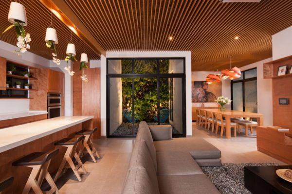 patios interiores de casas modernas - Buscar con Google Patios