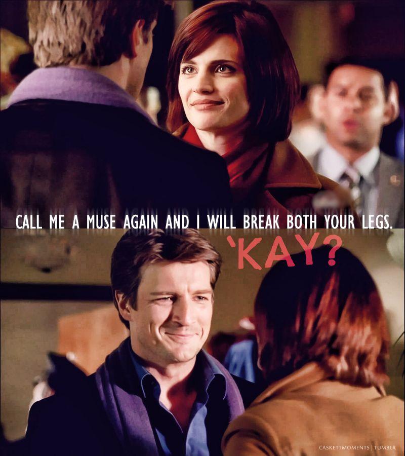 love his smile!   Beckett  Beckett  Nikki Heat?!?!   Castle
