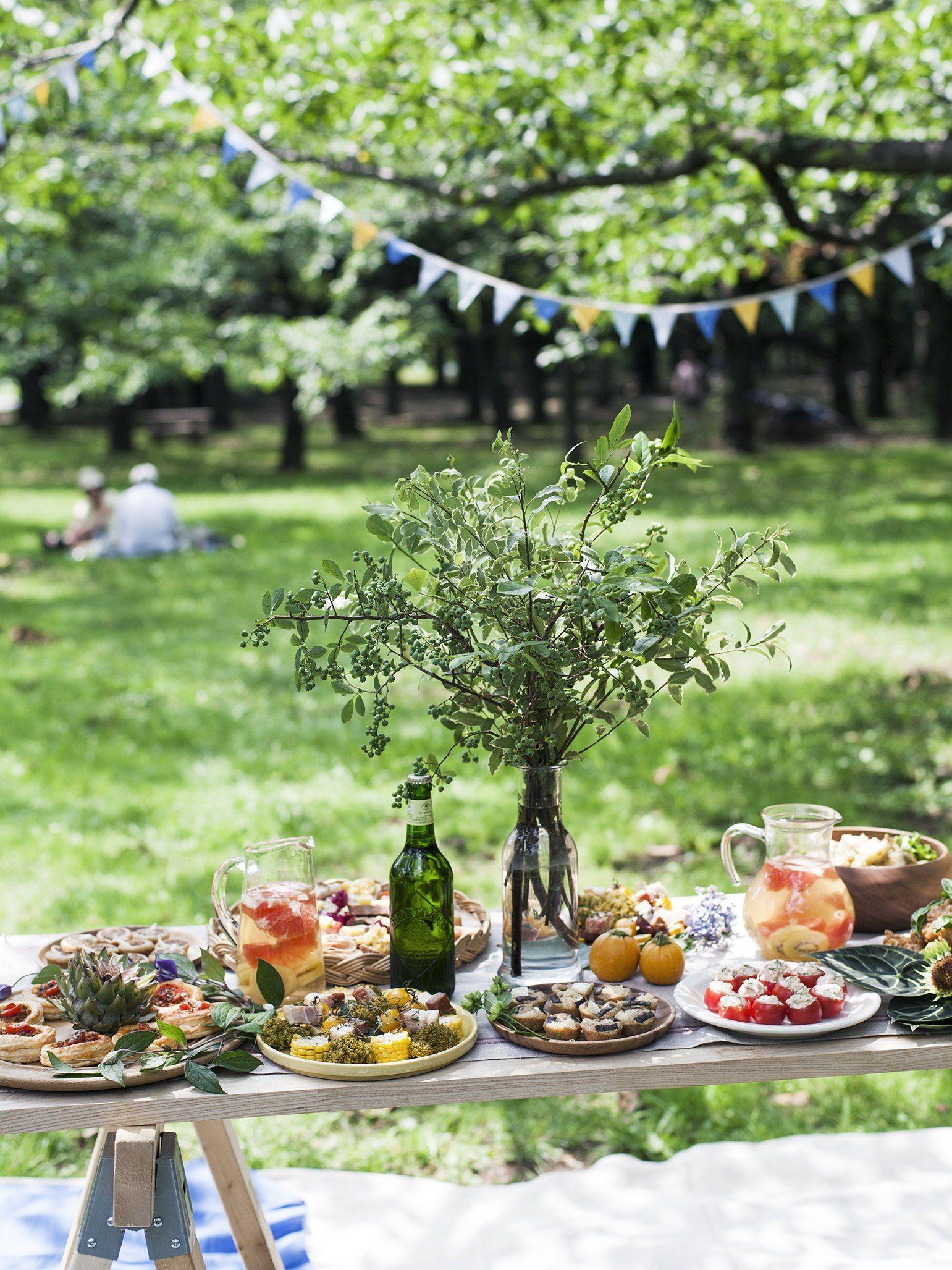 yoyogi park picnic