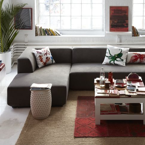 Everyone Needs A Good Minimalist Sectional Couch. The Baxter From West Elm  Should Do.