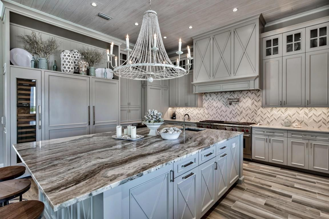 916 Scenic Gulf Drive Miramar Beach Fl 32550 Home Decor Kitchen Grey Kitchen Cabinets Kitchen Cabinet Design