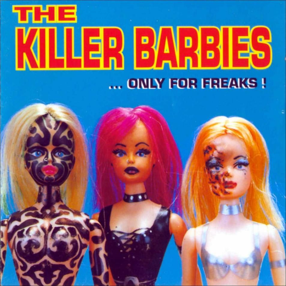 Portada The Killer Barbies