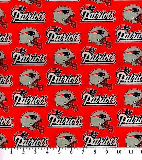 New England Patriots Cotton Fabric Red Joann New England Patriots Patriots Fabric
