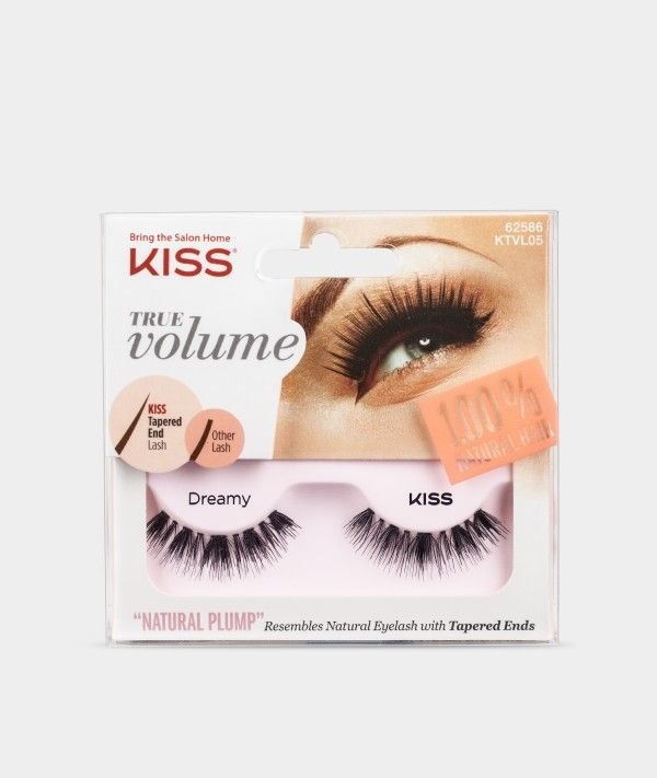 556787f896f True Volume Lashes by KISS - Dreamy - Eyelashes | Eccentric Lashes ...