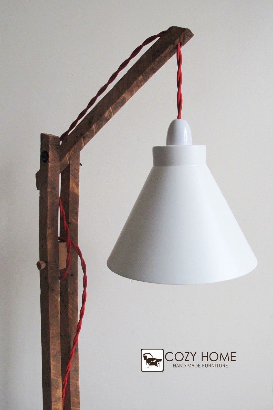 Vintage wooden stand lamp,Floor lamp standing | Floor lamp, Vintage ... for diy lamp stand ideas  35fsj