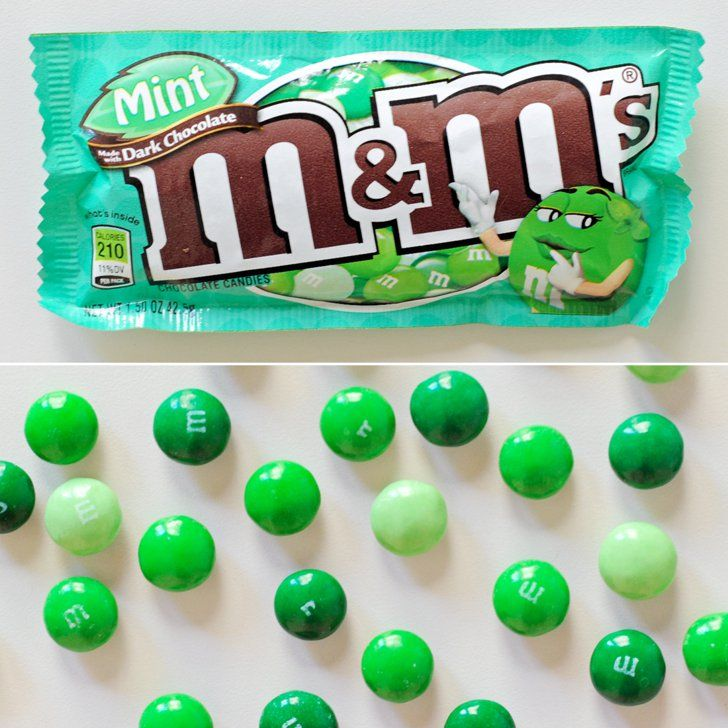 Pin for Later: 39 Chocolate-Mint Sweets, Ranked From Worst to Best Dark Mint M&M's