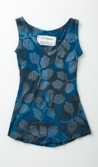 #22940: New Leaves Patchwork Tank