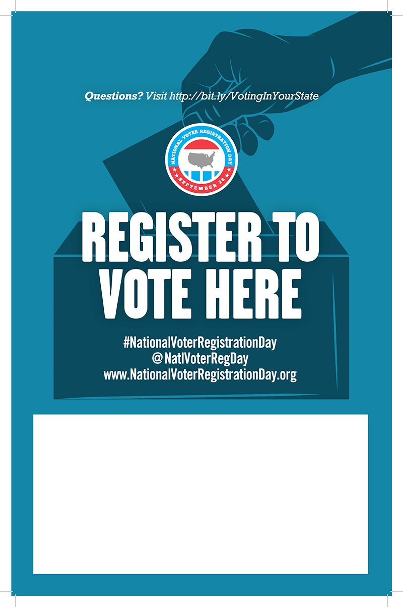 13 best national voter registration day