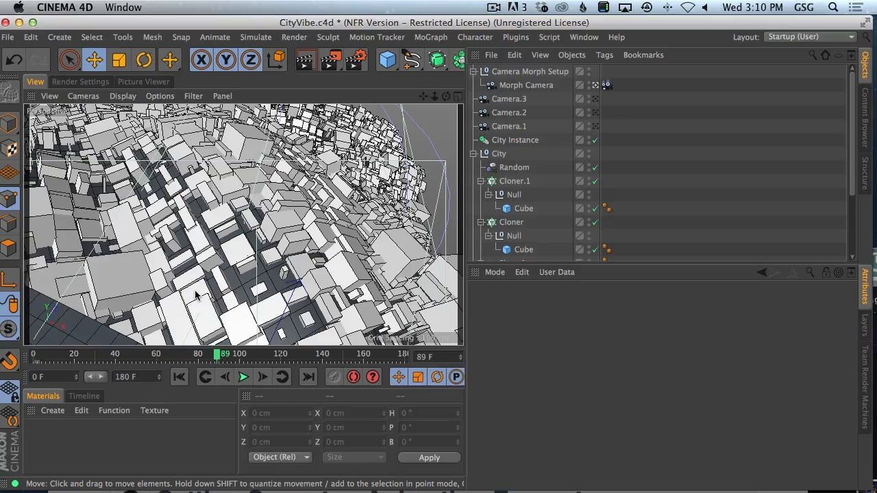 Adding Depth And Parallax By Layering Elements In Cinema 4D   3d