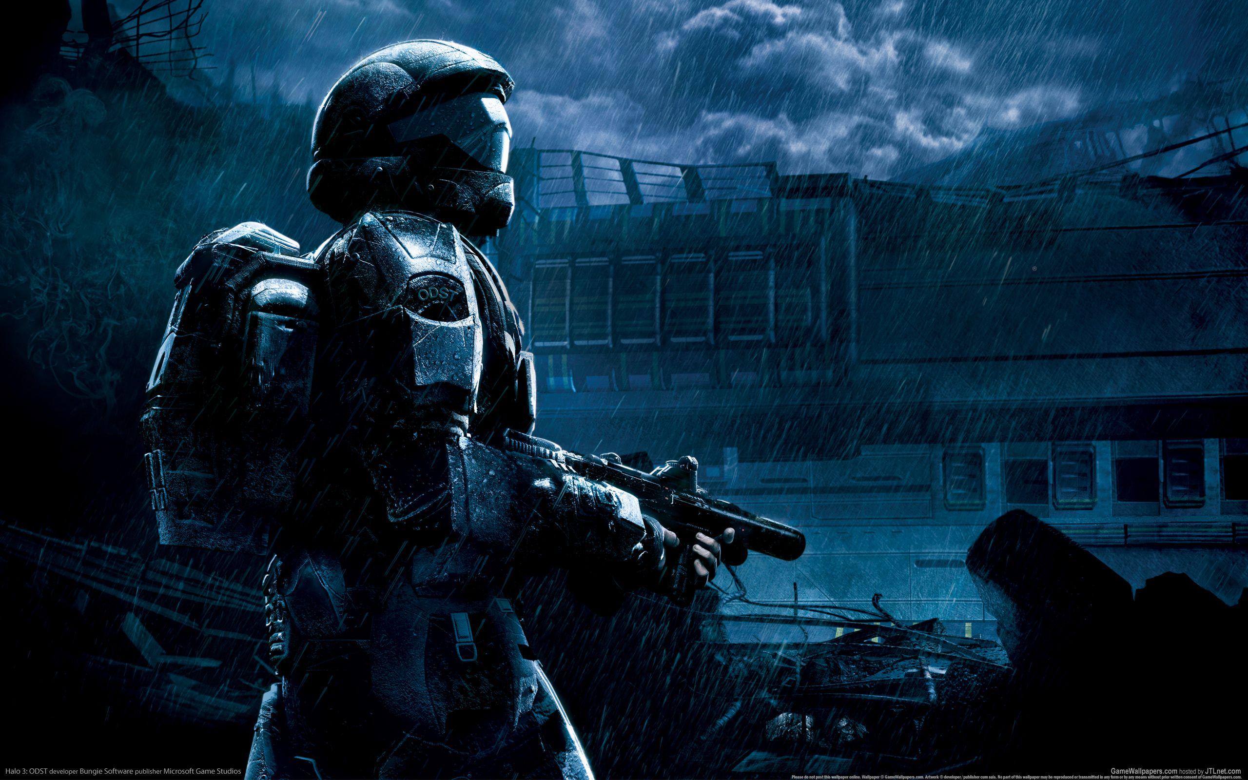 My Completely Random Wallpaper Dump Post Halo 3 Odst Halo 3 Halo Armor