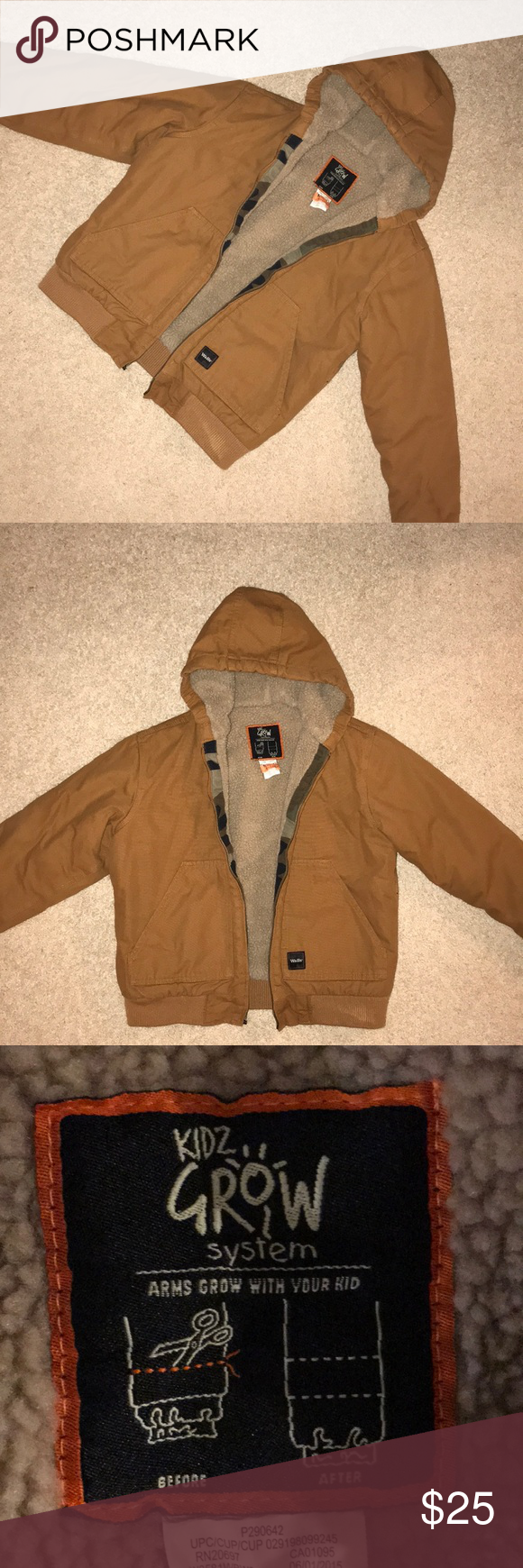 walls youth hunting insulated jacket euc clothes design on walls hunting clothing insulated id=43242
