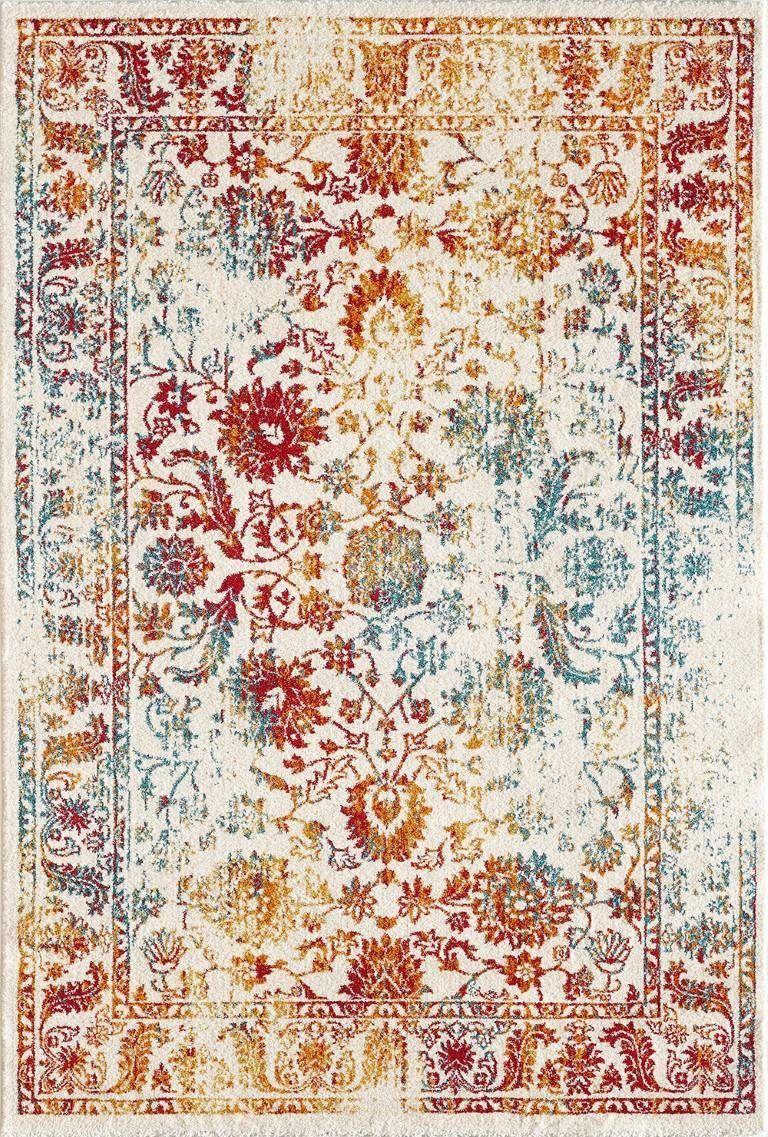 Teppich Vintage 1606 Sanat Rechteckig Höhe 13 Mm Kurzflor Online Kaufen Otto Teppich Retro Teppiche Wohnzimmerteppich