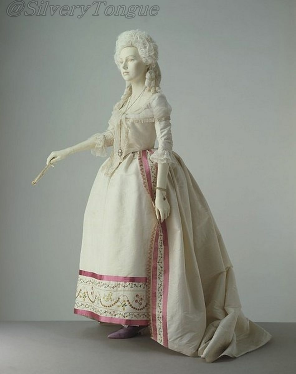 Dress c. 1780-85.