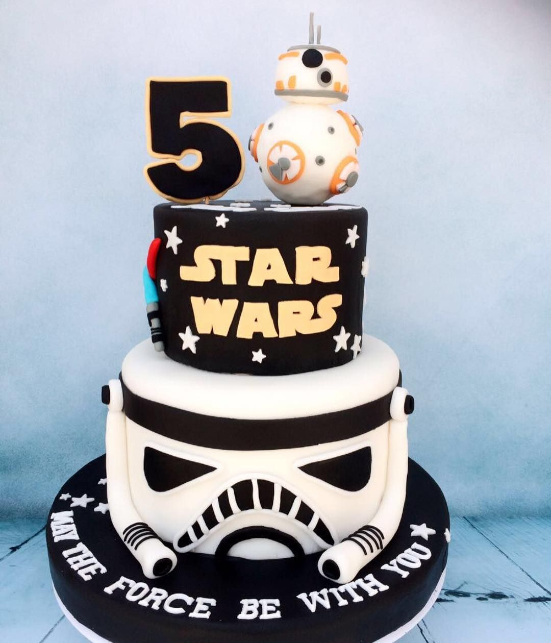 Swell The Force Is Strong With This One Cakeinthecitydubai Personalised Birthday Cards Paralily Jamesorg