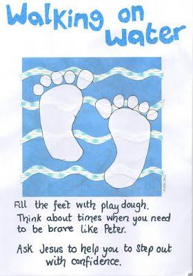Jesus Calms The Storm Lesson Preschool