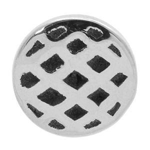 Buy today at www.bodyjewelleryshop.com - cute Internally Threaded Steel Mesh Disc. #bodyjewelry #internallythreaded #piercings #bodyjewellery #piercingjewellery #bodypiercings #microdermals