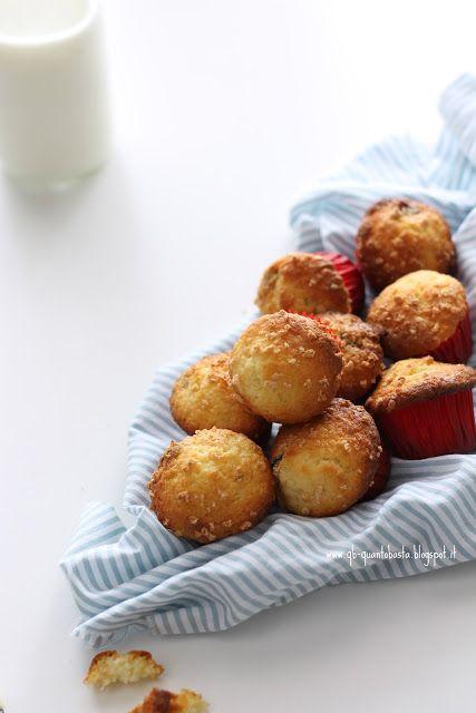 Q.B. - Quanto Basta..Muffin al cioccolato bianco e frutti rossi