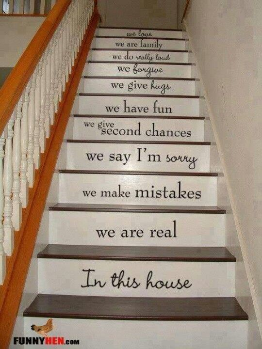 Amazing Decorating On Pennies: DIY Stairs