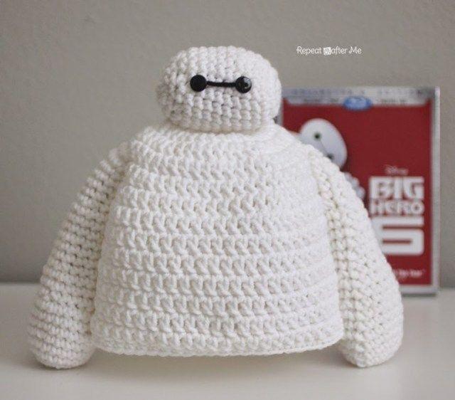 Baymax Crochet Hat - Repeat Crafter Me | crochet | Pinterest