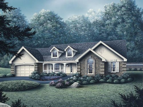 The Kinsley Building Plans Only At Menards House Plans And More House Plans Ranch House Plan