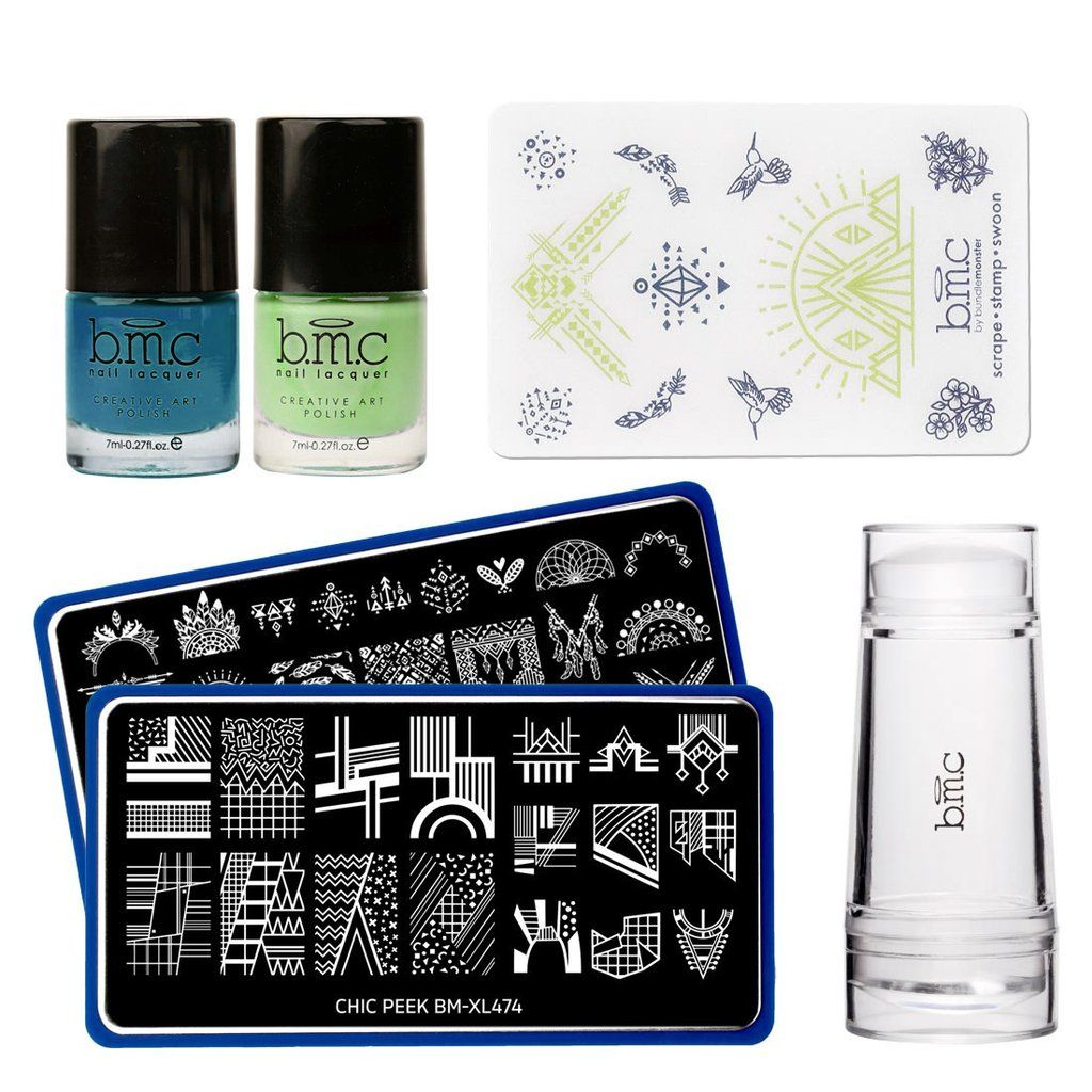 Allow your creativity to shine through with BMC\'s Chic Peek Nail ...