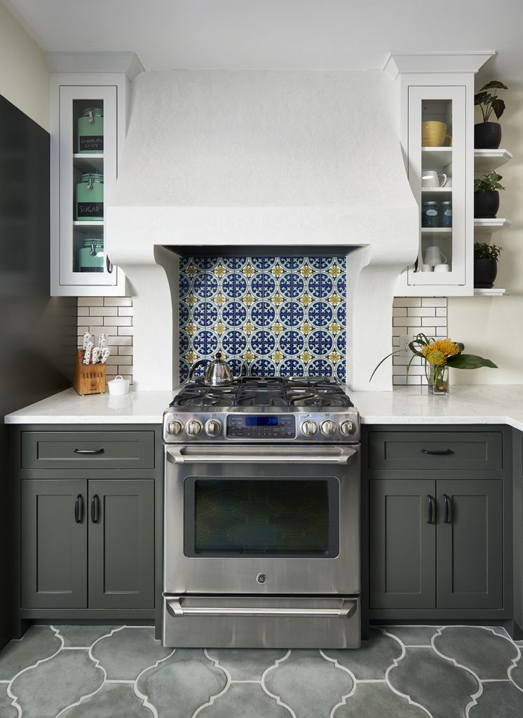Modern Spanish Colonial Revival Kitchen Remodelista Spanish Style Kitchen Spanish Revival Kitchen Colonial Kitchen