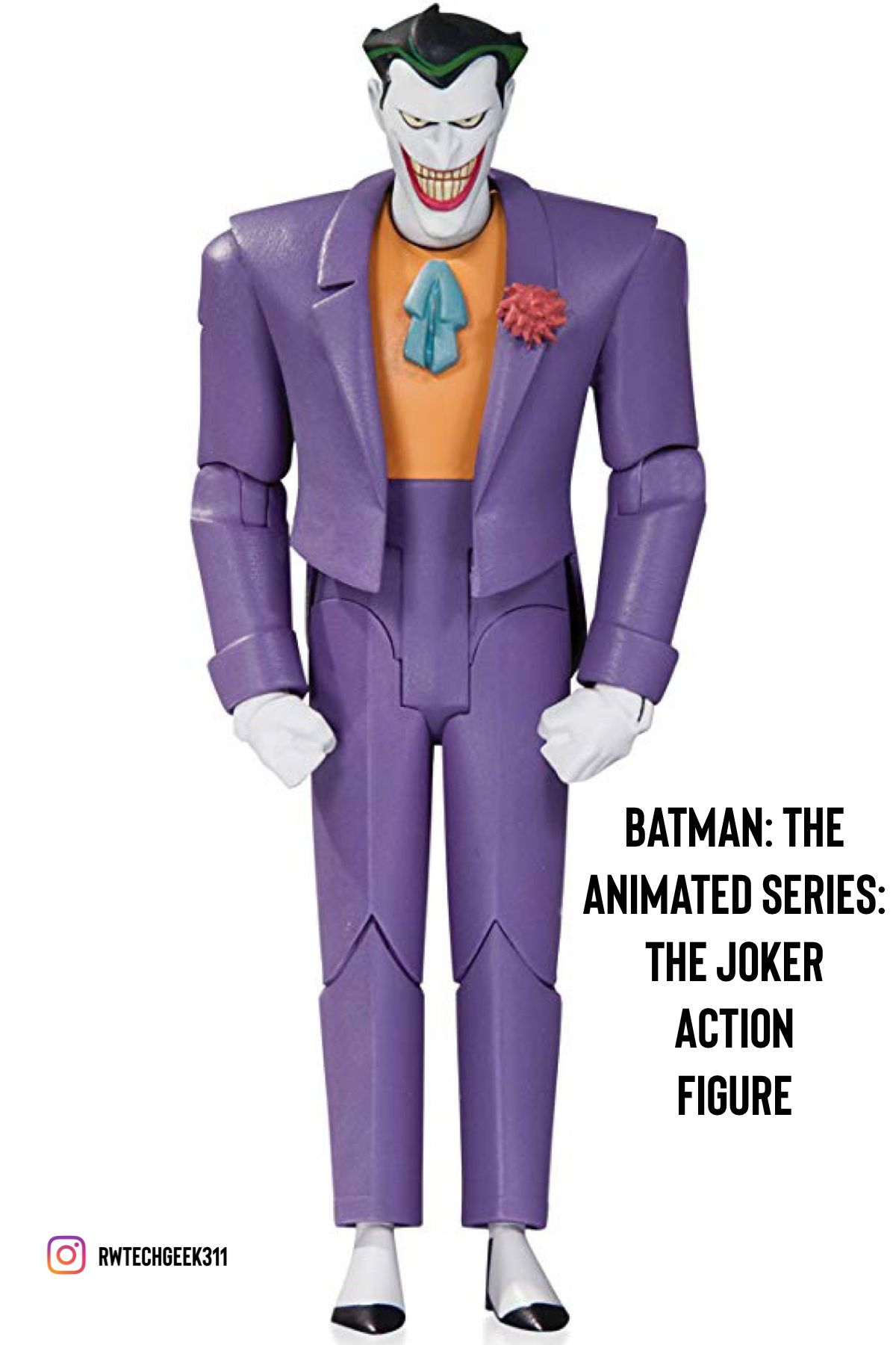 Based On The Designs From The Hit Show Batman The Animated Series