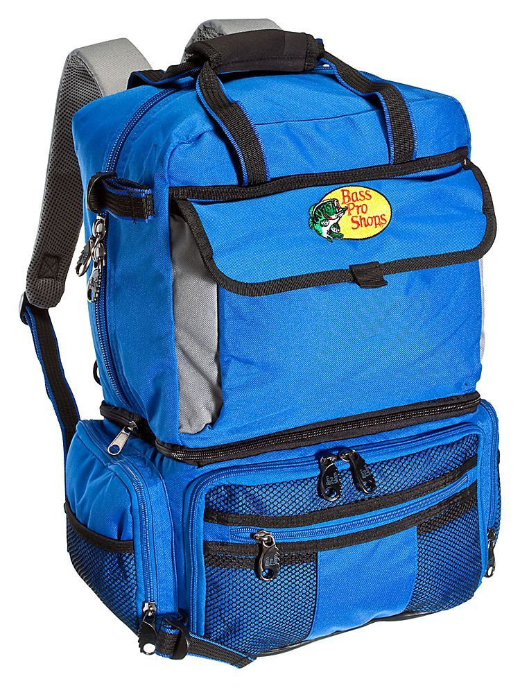 Bass pro shops extreme qualifier 360 backpack system for Bass pro fishing backpack