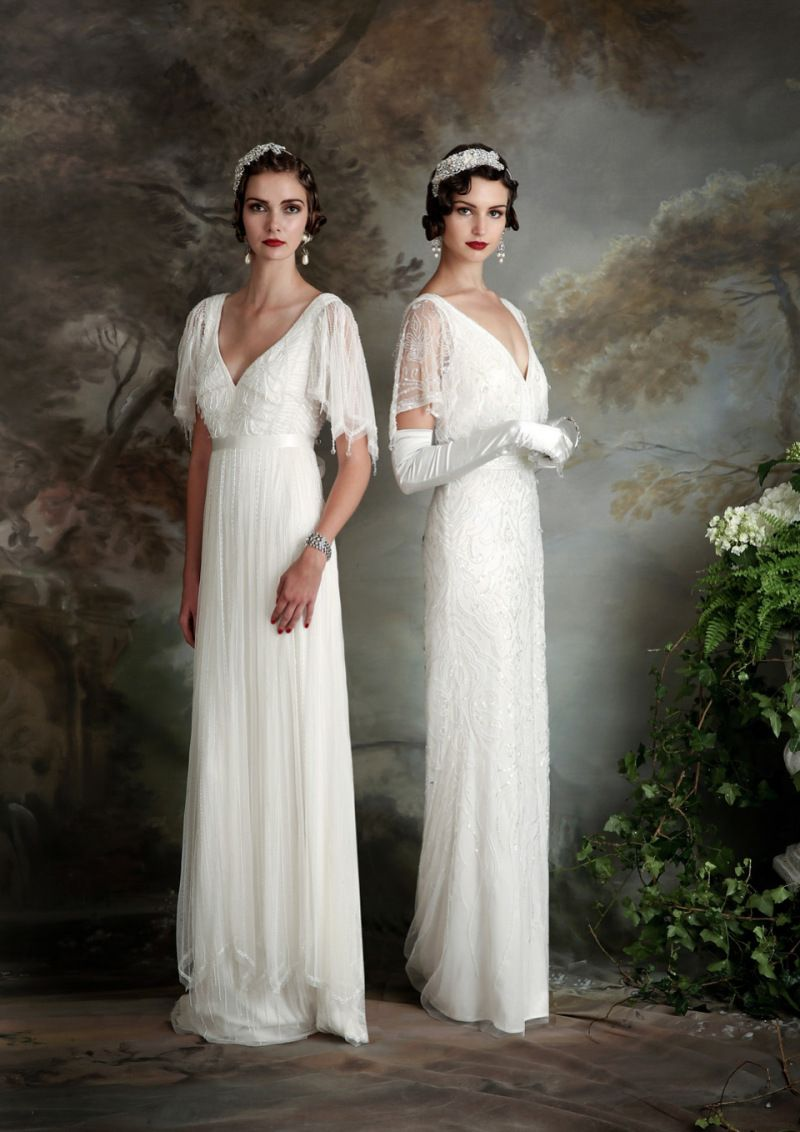 e5b1f467549a Eliza Jane Howell - Elegant Art Deco Inspired Wedding Dresses ...