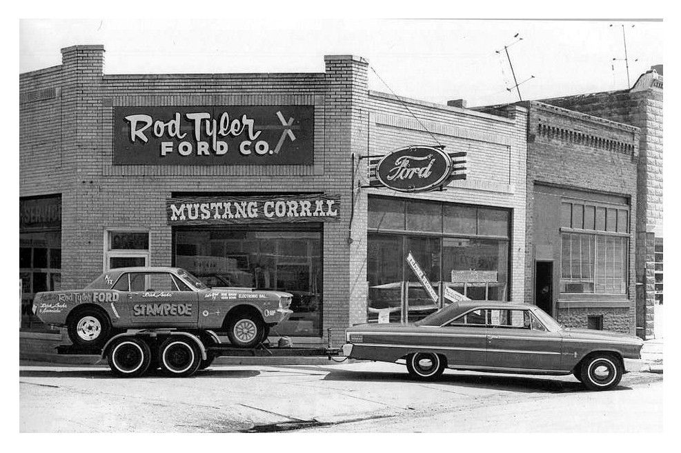 1960's Rod Tyler Ford Dealership | Mustang, Vintage mustang, Car ...