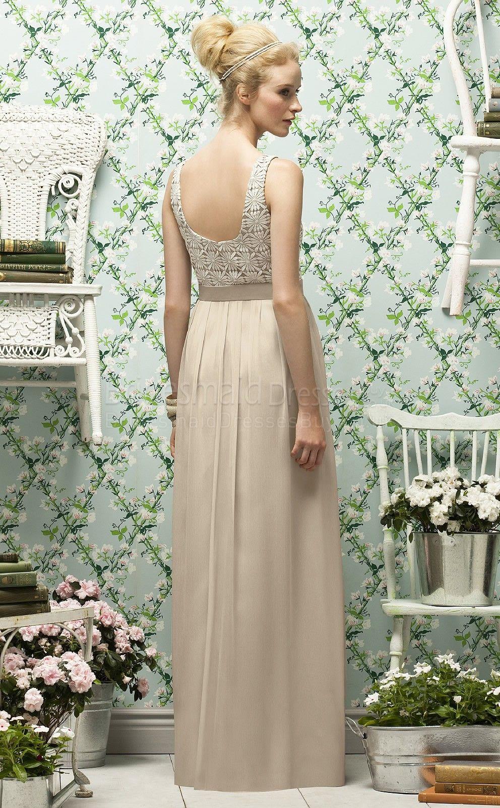 I like the lace detailing bridesmaids pinterest lace detail i like the lace detailing natural bridesmaids dressesvintage ombrellifo Choice Image