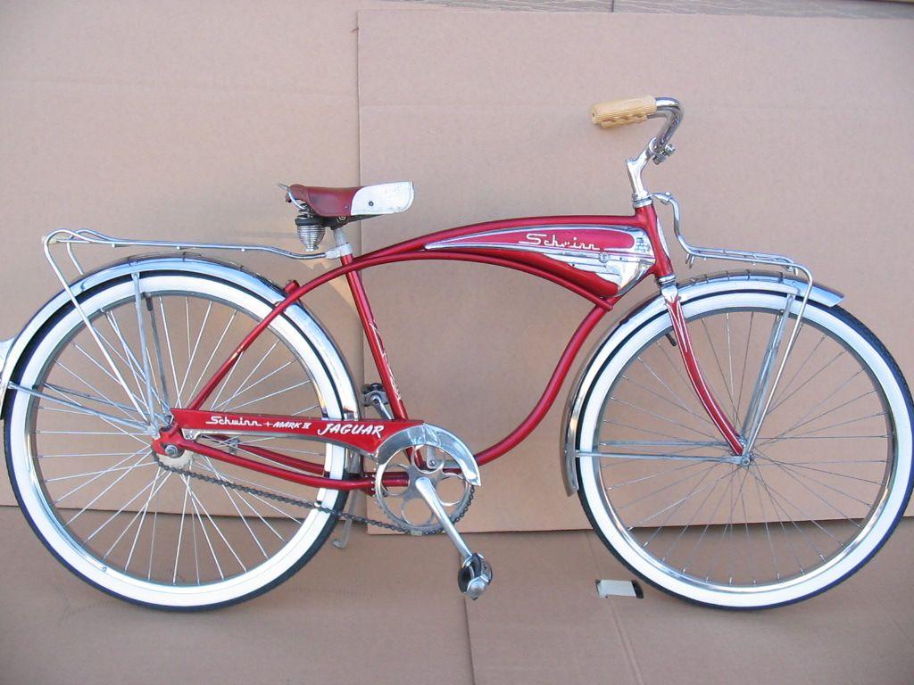 1958 Schwinn Jaguar | Schwinn Classics | Bike, Bicycle, Jaguar