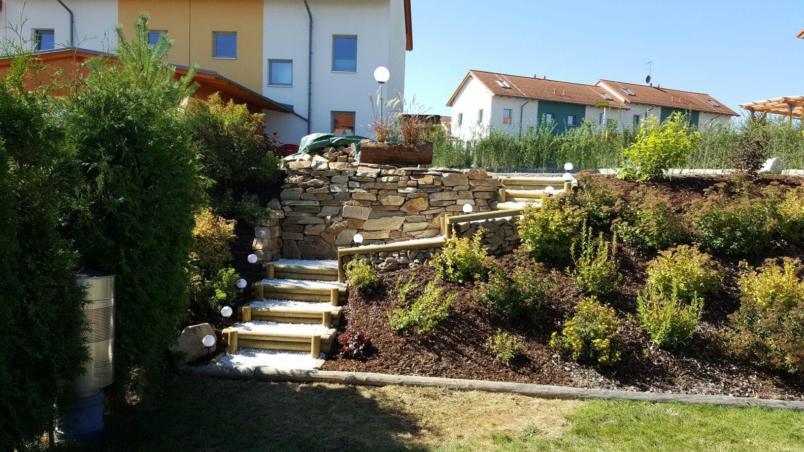 stiegeimgarten #garten #selbstgemacht #stiege #steine #kies #marmor ...