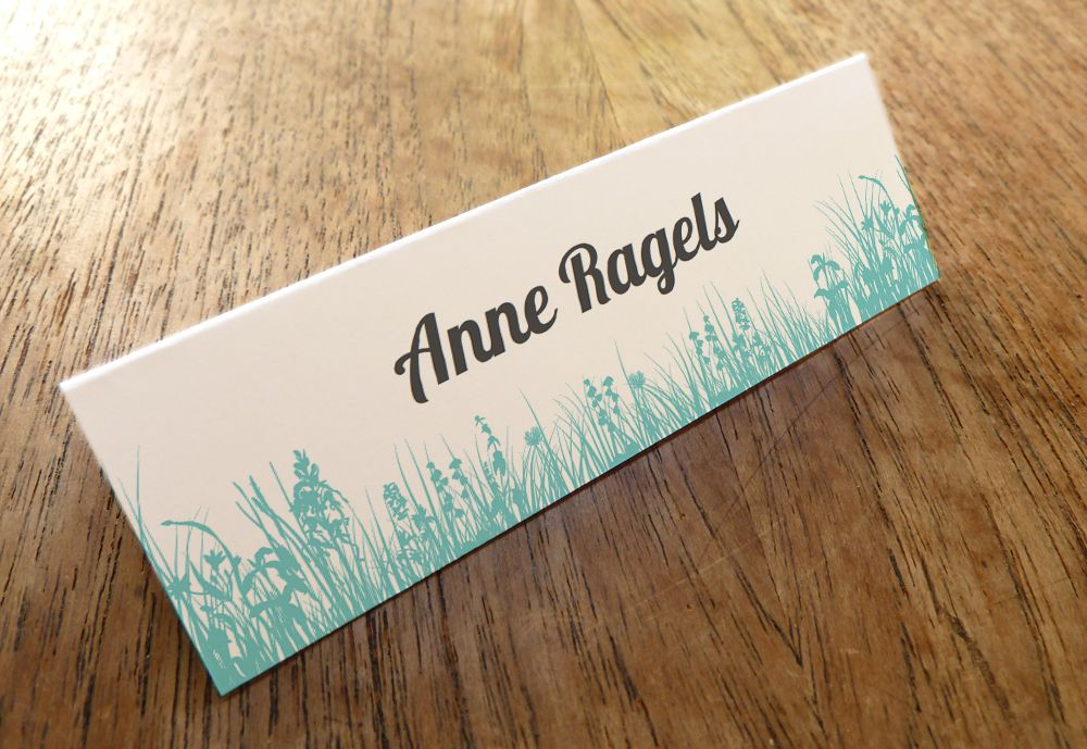 Diy escort cards editable pdfs just download enter the names and print includes a space for table number too