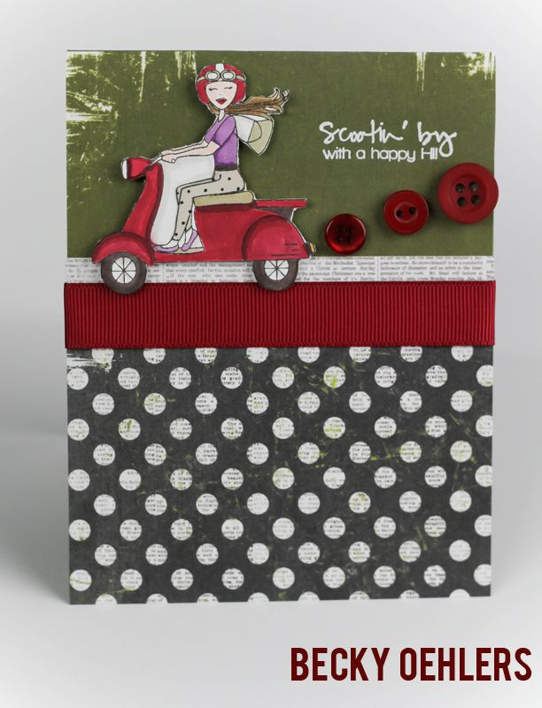 Scooter Diva - designed by Debbie Cobari and available at Gina K Designs - http://www.shop.ginakdesigns.com/product.sc?productId=1645=16