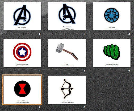 the avengers symbols ironon transfer design iron man