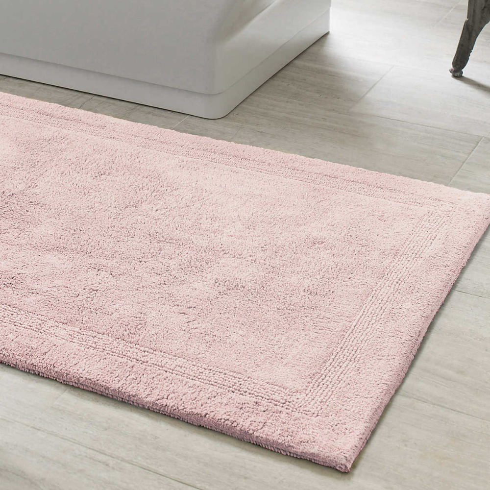 Signature Slipper Pink Bath Rug The