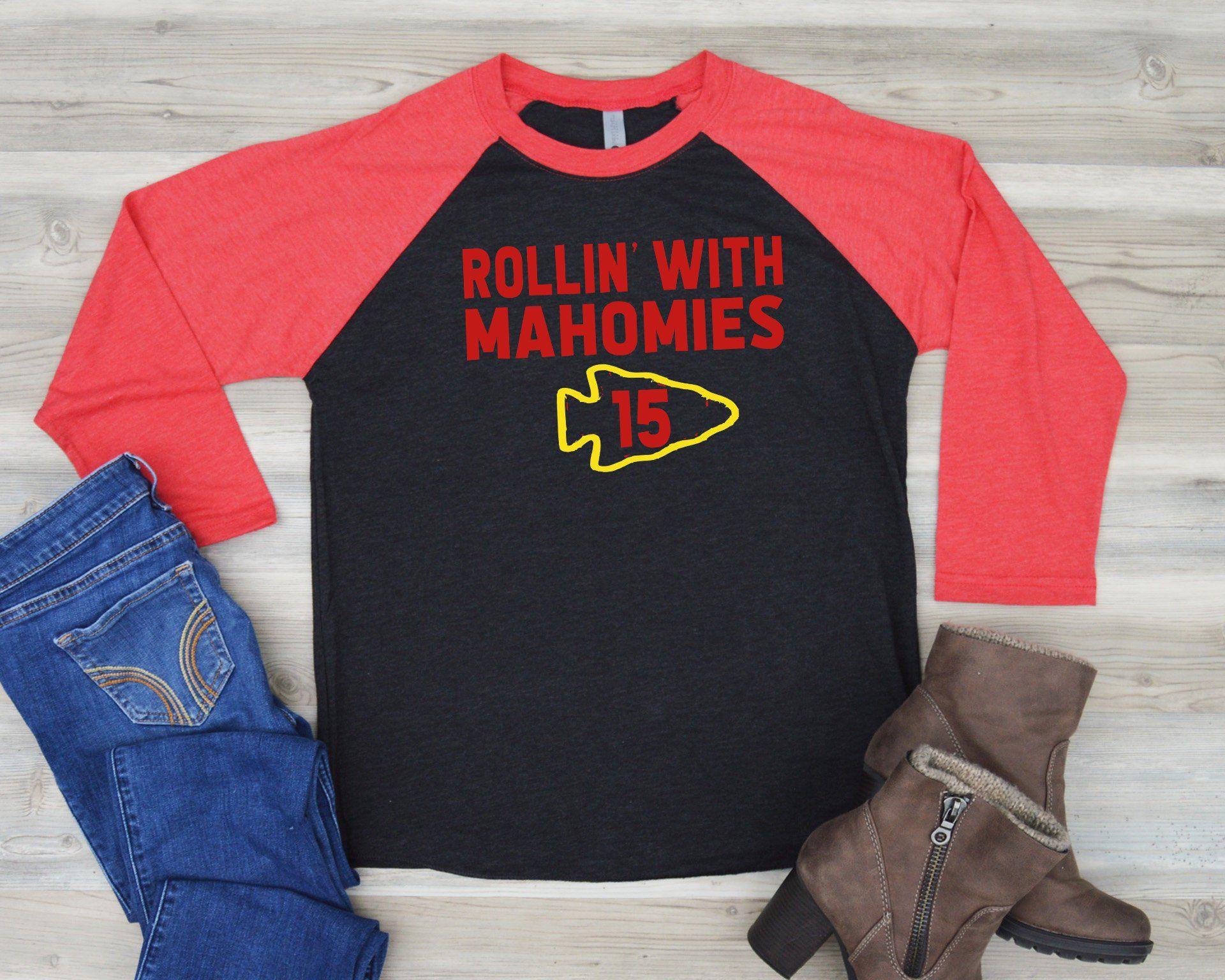 c9c4b66c Rollin with Mahomes   Kansas City Shirt   Chiefs Shirt   Women's ...