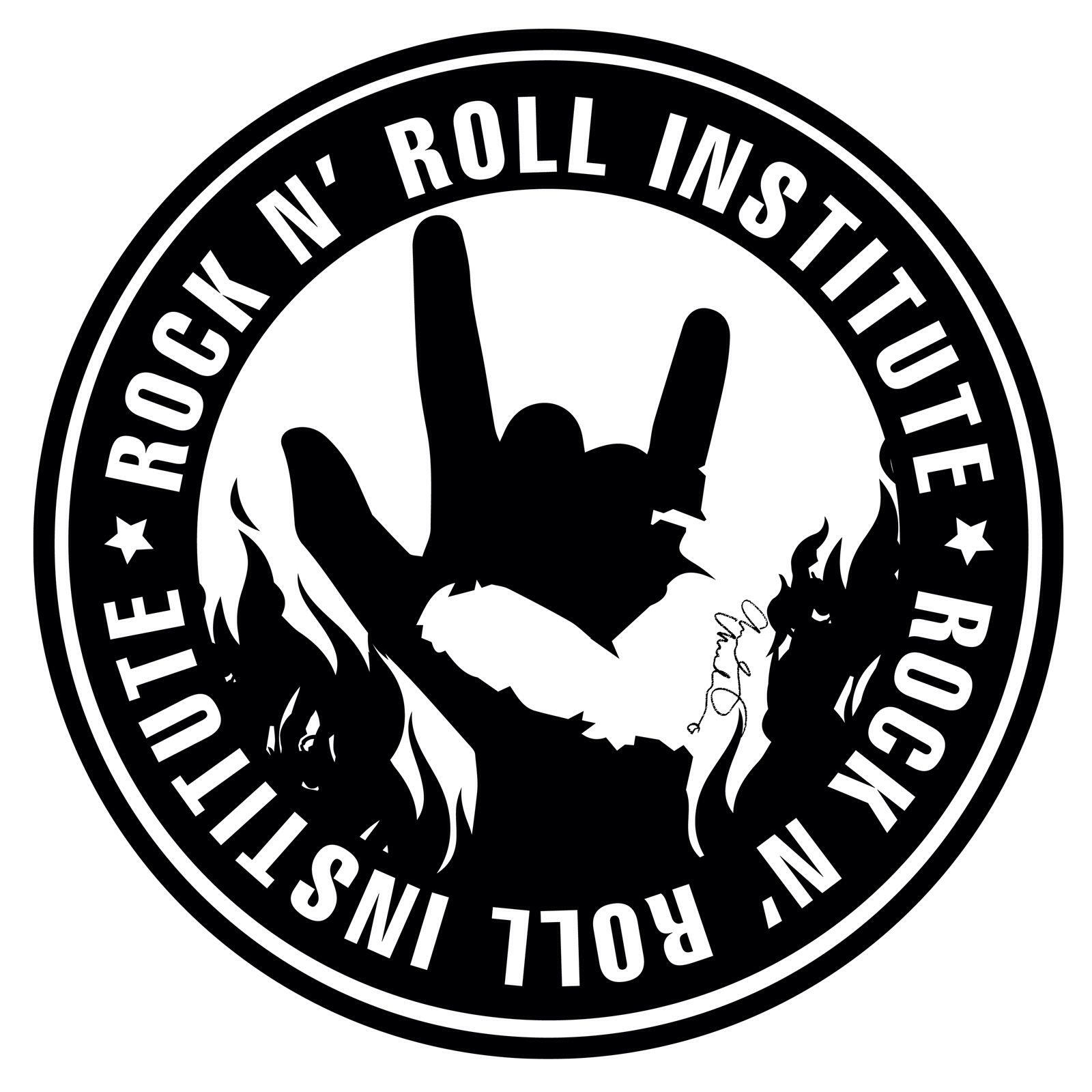 Image from http://andywhorehall.com/wp-content/uploads/Rock-n-Roll-Institute_Logos-Final_SOCIALMEDIA_A.jpg.