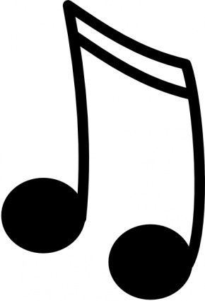 music note clipart projects to try pinterest music notes and note rh pinterest com Music Clip Art Free Clip Art Downloads Microsoft